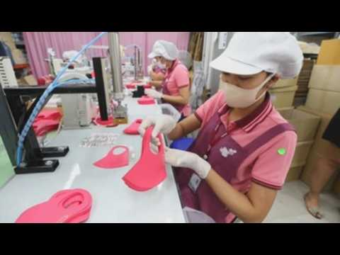 Thai lingerie factory helps produce fabric face masks to combat coronavirus pandemic