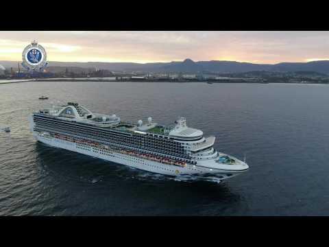 Virus-stricken Ruby Princess cruise ship leaves Australian waters