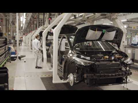 Resumption of production of electric cars at Volkswagen Plant in Zwickau