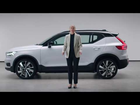 The New Volvo XC40 Recharge - Sustainability and powerful driving experience
