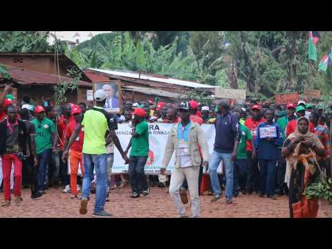 Burundian opposition party kicks off election campaigning