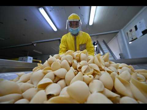 Coronavirus: Italian pasta producers reopen despite 'severe' damage