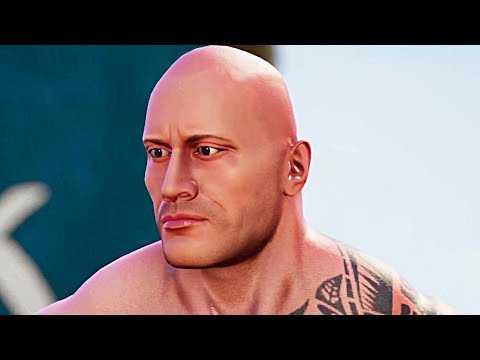 WWE 2K Battlegrounds Trailer (2020) The Rock, John Cena