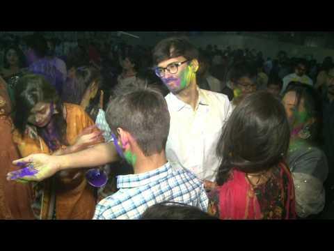 Pakistani Hindus celebrate Holi festival