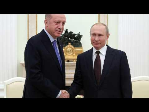 Russia's Putin and Turkey's Erdogan agree Syria ceasefire