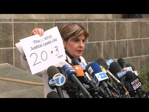 'This is what justice looks like,' says Allred following Weinstein 23-year prison sentence