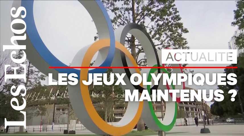 Illustration pour la vidéo Les Jeux olympiques menacés par le coronavirus ?
