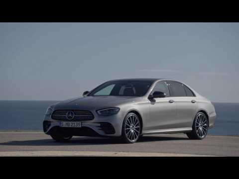 The new Mercedes-Benz E-Class Sedan Design Preview