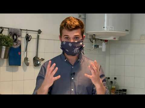 Coronavirus: How to make your own face mask – no sewing required