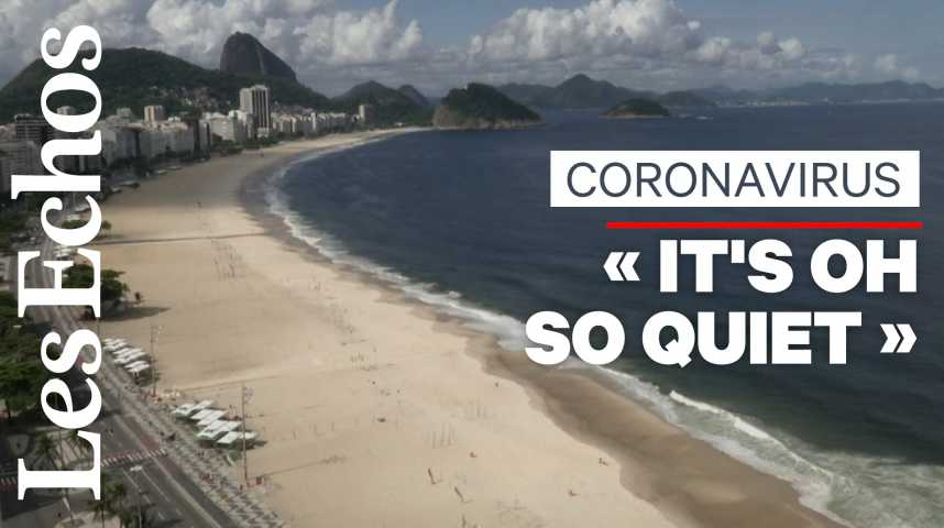 Illustration pour la vidéo Las Vegas, Copacabana, Time Square… ces lieux mythiques désertés à cause du coronavirus