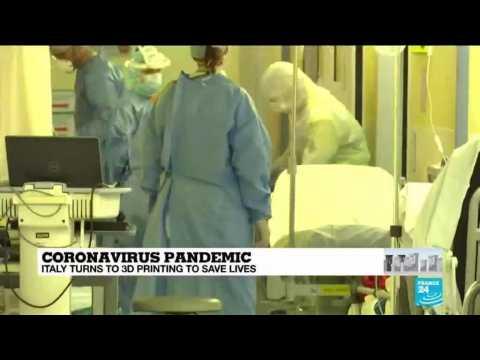 Coronavirus pandemic: Italy turns to 3D printing to save lives