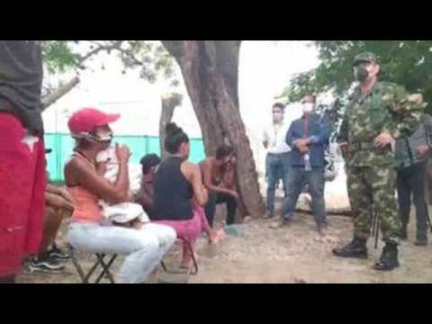 Colombia militarizes border crossing with Venezuela to contain COVID-19