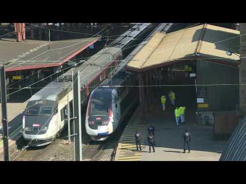 Coronavirus: medicalised train evacuates patients from eastern France