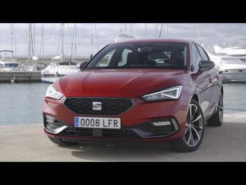 The all-new Seat Leon FR Design in Desire Red
