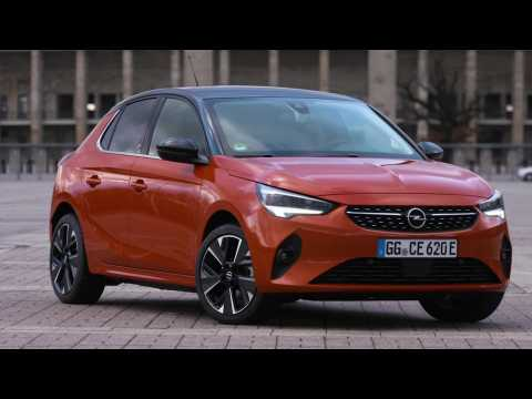 The new Opel Corsa-e Exterior Design