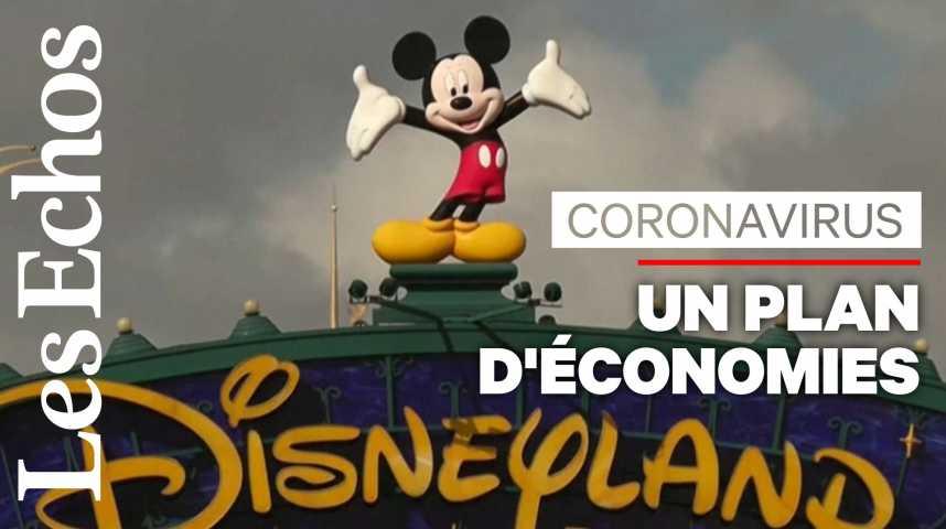 Illustration pour la vidéo Disney met 100.000 salariés de ses parcs au chômage technique
