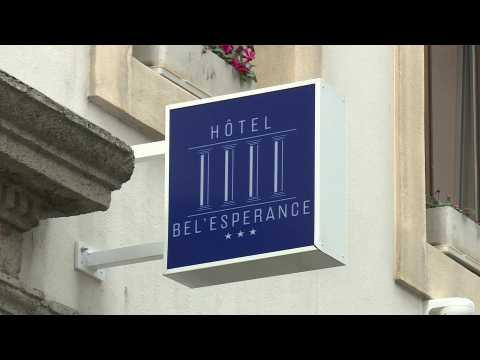 Welcome to hotel Bel'Espérance: Helping the homeless amid pandemic