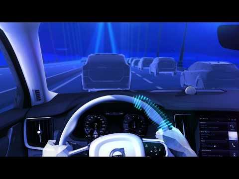 Volvo XC90 Pilot Assist animation