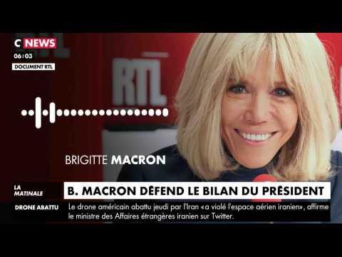 Brigitte Macron défend le bilan du Président - ZAPPING ACTU DU 21/06/2019