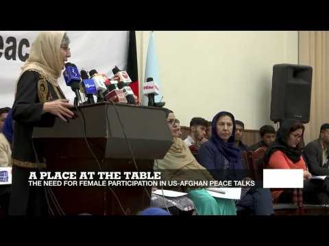 A place at the table: Involving women in US-Afghan peace talks