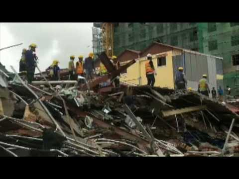 Deadly Cambodia building collapse