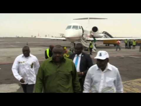 Former DR Congo VP Bemba returns to Kinshasa