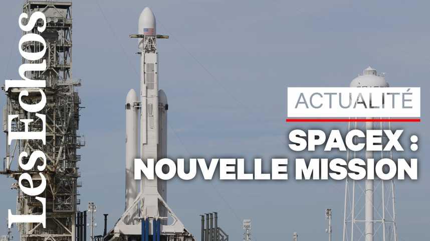 Illustration pour la vidéo SpaceX se prépare à l'un de ses « lancements les plus difficiles »