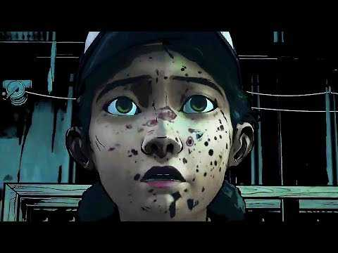 "WALKING DEAD DEFINITIVE SERIES ""Graphic Black"" Trailer (2019) PS4 / Xbox One / PC"
