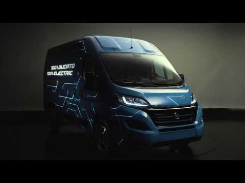 World Preview of the Fiat Ducato Electric