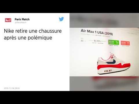Nike retire une chaussure accusée de rappeler l'époque de l'esclavage