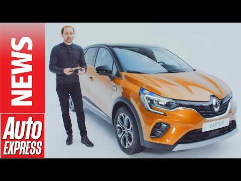 New 2020 Renault Captur - Renault's best selling car goes for premium push