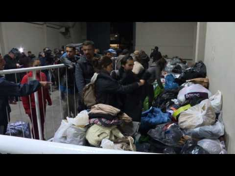 River Plate stadium shelters homeless in cold Buenos Aires weather