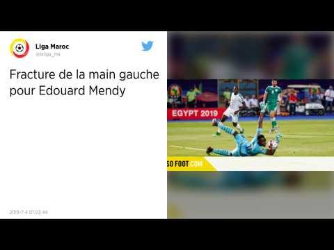 Ligue 1 : Blessé à la main, Edouard Mendy sera absent un mois