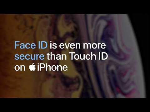 iPhone — Face ID is even more secure than Touch ID — Apple