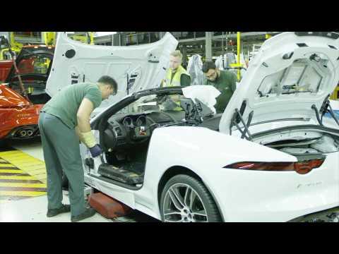 Jaguar Land Rover - Castle Bromwich F-TYPE Manufacturing