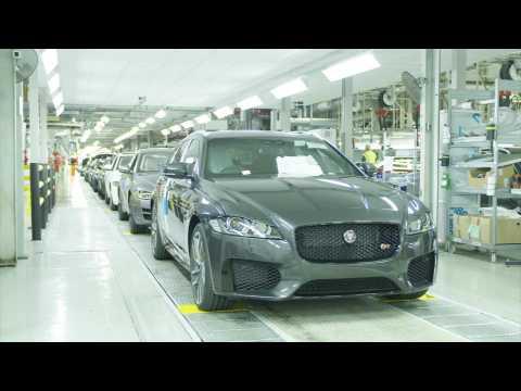 Jaguar Land Rover - Castle Bromwich XF/Sportbrake Trim & Final