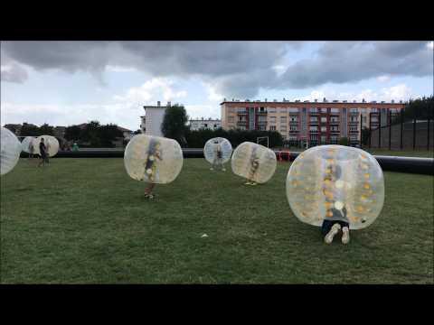 Un tournoi de bubble foot organisé à Calais