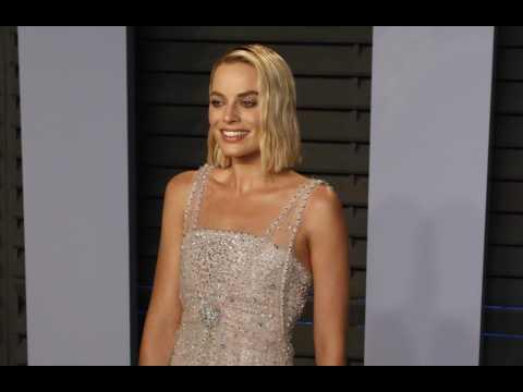 Margot Robbie excited about work
