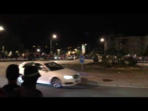 Supporters de l'Algérie à Maubeuge