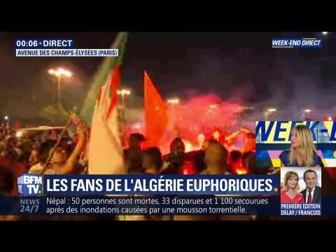 CAN 2019: les fans de l'Algérie euphoriques