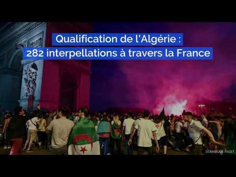 Coupe d'Afrique : les fans de l'Algérie explosent de joie, 282 interpellations