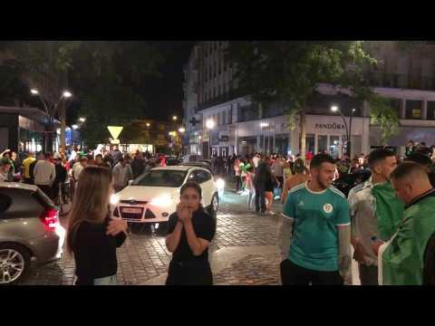 """Valenciennes: la place d'""""Armes après la victoire de l'Algérie"""