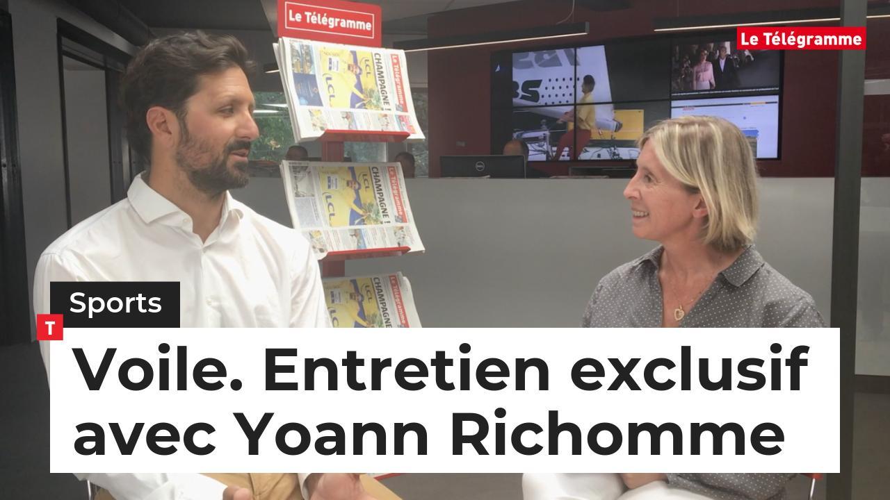 Voile. Entretien exclusif avec Yoann Richomme