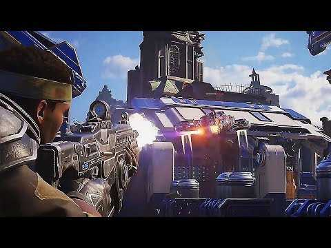 "GEARS 5 ""Bootcamp"" New Gameplay Demo (2019) Xbox One / PC"