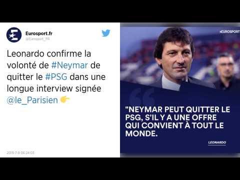 PSG : Leonardo?: «?Neymar peut quitter le club?»