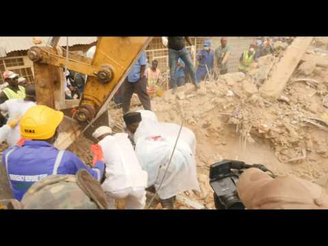 Deadly Nigeria building collapse