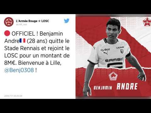 Mercato : Le Stade Rennais confirme le départ de son capitaine Benjamin André pour Lille