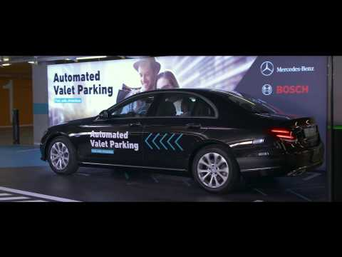 World first - Bosch and Daimler obtain aproval for Driveless parking without human supervision