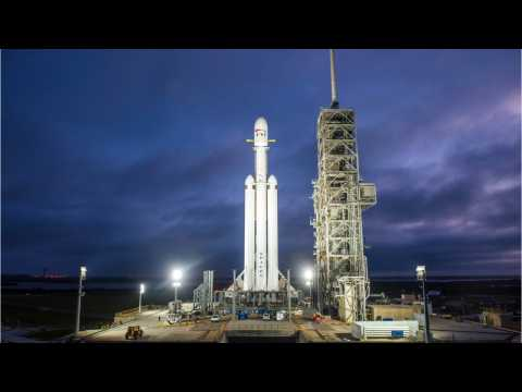 SpaceX's Falcon Heavy Launching Satellites And Bill Nye Project Into Orbit