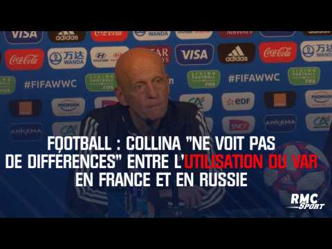 """Collina """"ne voit pas de différences"""" entre l'utilisation du VAR en France et en Russie"""